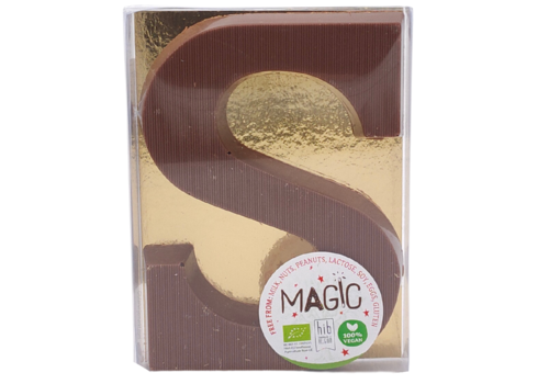 Magic Chocolate Chocoladeletter Milky Rice 36% Biologisch