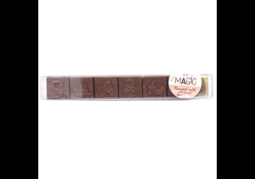 Magic Chocolate Chocoladeblokjes Sinterklaas Melk 47% Biologisch