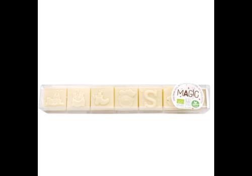 Magic Chocolate Chocoladeblokjes Sinterklaas Milky Rice 35% Biologisch