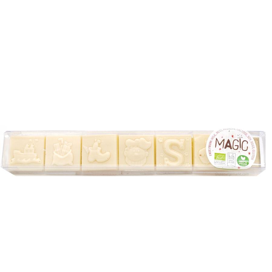 Chocoladeblokjes Sinterklaas Milky Rice 35% Biologisch