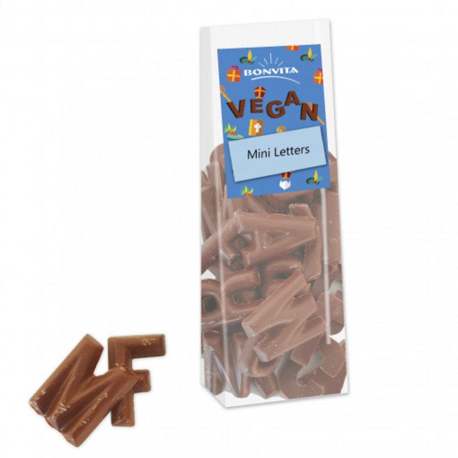 Mini Chocoladeletters Melk Biologisch