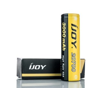 20700 40A 3000mAh Flattop Batterij