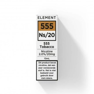 Element Nic Salts 555 Tobacco