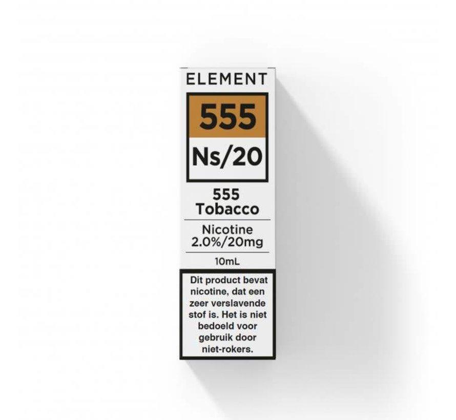 Nic Salts 555 Tobacco