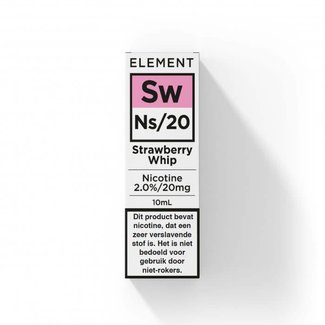 Element Nic Salts Strawberry Whip