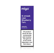 Migo Nic Salts Blueberry tart