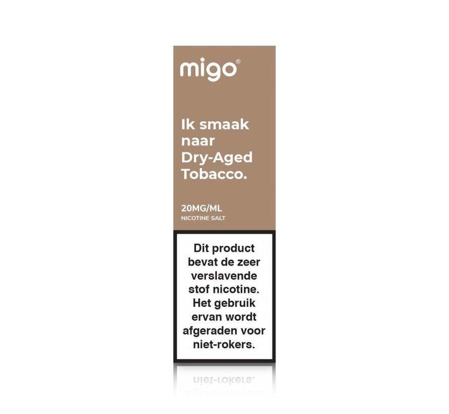 Nic Salts Dry Aged Tobacco