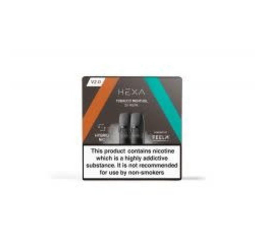 Pods 2.0 Tobacco Menthol 20mg Nicotine salt