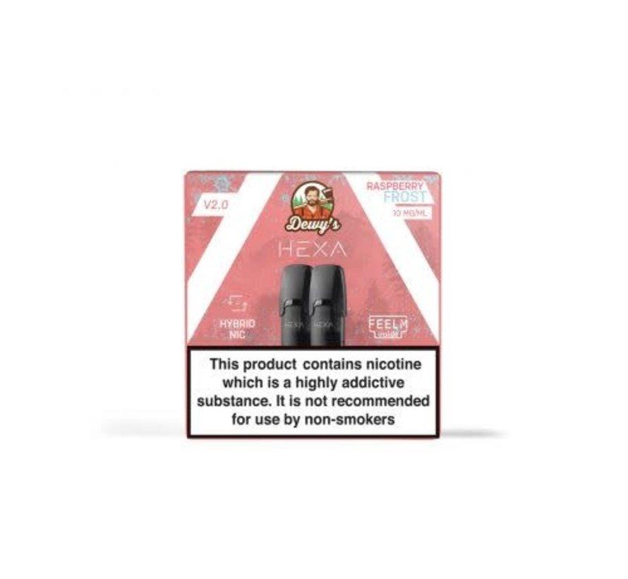 Pods 2.0 Dewy's Raspberry Frost 10mg Nicotine salt