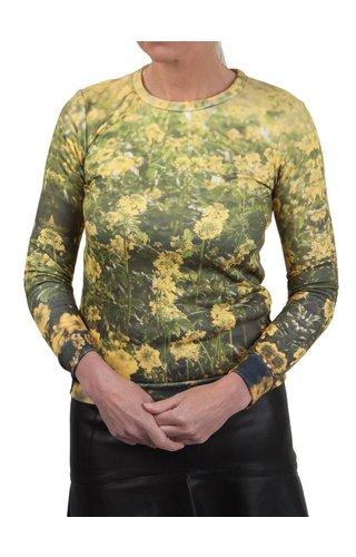 JWF Design ® Yellow Flower Sweatshirt