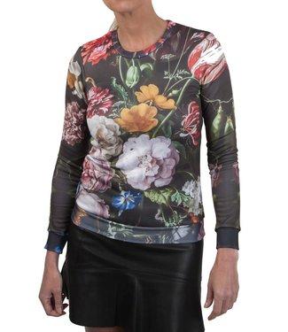 "Anne Hill Anne Hill ® ""The Power of Flower"" Sweatshirt"