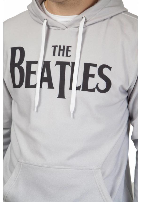 Beatles Grey Cotton Hoodie