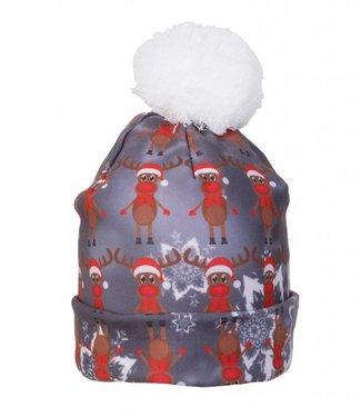 Rudy Land Rudy Land Christmas Beanie Multi Grey