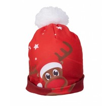 Rudy Land Bonnet Starry Red