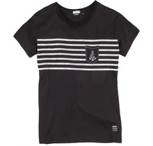 Gaastra ® Damen T-Shirt Raise the Sail, Schwarz