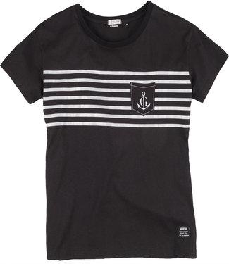 Gaastra T-shirt femme Gaastra ® Raise the Sail, noir