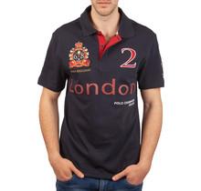 John Brilliant ® Poloshirt London, donkerblauw