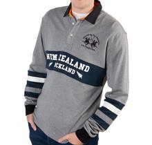 La Martina ® New Zealand Auckland Polosweatshirt, grijs