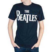 "Rockstarz T-shirt Beatles ""Famous Logo"" Dunkelblau"