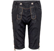 HangOwear ® Jeanshose Short, Schwarz