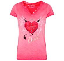 HangOwear ® Damen T-Shirt Rike, Rot