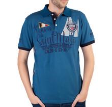 Geographical Norway ® Poloshirt Saint-Malo, Blau