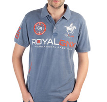 Geographical Norway ® Poloshirt Royal GNX, blauw
