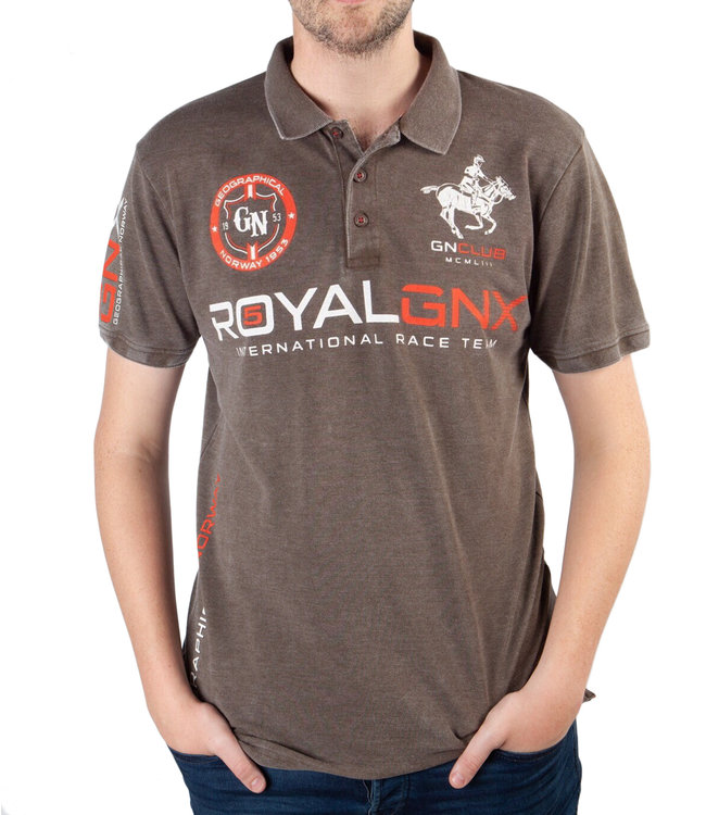 Geographical Norway Geographical Norway ® Poloshirt Royal GNX