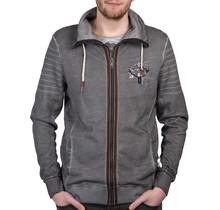 """HangOwear ® Sweatjacke """"Berg & Woid"""" Anthrazit"""