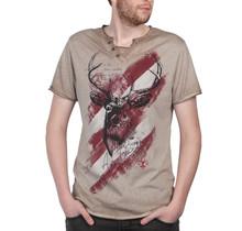 T-shirt HangOwear ® Autriche, marron