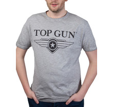 "Top Gun ® ""Cloudy"" T-shirt Grey Melange"