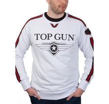 """Top Gun Sweatshirt ronde hals """"Streak Logo"""" met patches"""