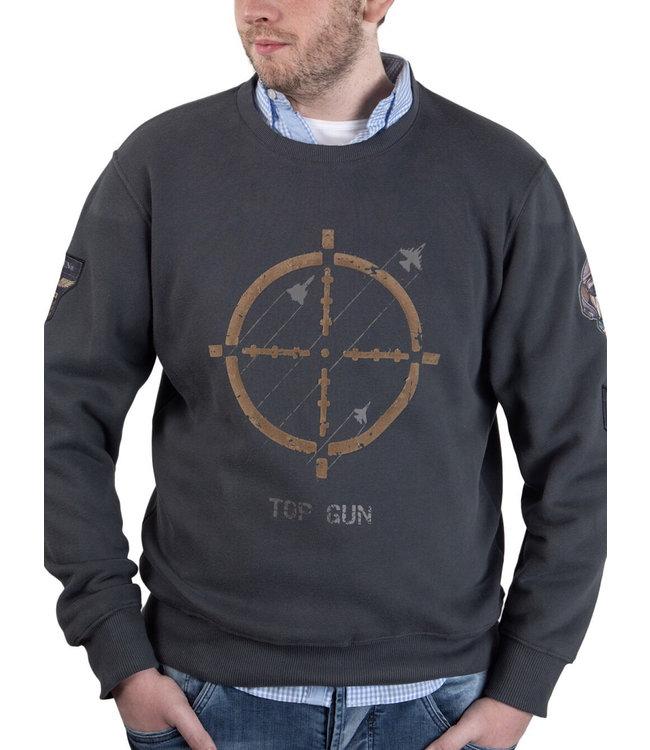 "Top Gun Top Gun ® Sweatshirt ""Target Disc"""