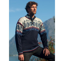 "Dale of Norway ® Pullover ""Vail"" Donkerblauw"