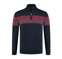 John Brilliant ® Norwegian Mens Pullover Ullgenser, Navy