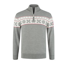 John Brilliant ® Norwegian Mens Pullover Ullgenser, Grey