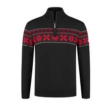 John Brilliant ® Norwegian Mens Pullover  Ullgenser, Black