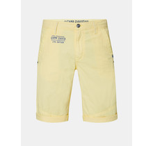 Camp David ® - Chino court avec imprimé au dos, jaune