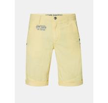 Camp David ® Chino Short met rugprint, geel