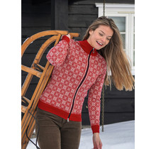 Dale of Norway ® Cardigan «Frida» pour femme, rouge