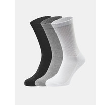 Fruit Crew Socks (3 Pair Pack) Grey/Black/White