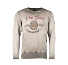 "Top Gun Sweatshirt ronde hals ""Smoking Monkey"""