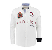 Hemd Polosport London, Weiß