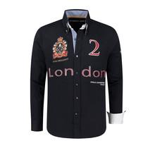 Hemd Polosport London, Dunkelblau