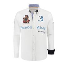 Hemd Polosport Buenos Aires, Weiß