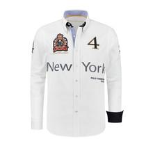 Hemd Polosport New York, Weiß