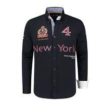 Overhemd Polosport New York, donkerblauw