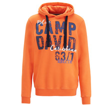 Camp David ® Hoodie mit grossem Logo-Fotoprint