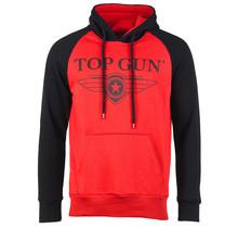 "Top Gun Hoodie-Sweatshirt ""Streak Logo"" mit Kontrastärmeln"