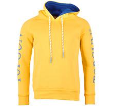 """Top Gun Hoodie Sweatshirt """"Logo Sleeve"""" geel"""